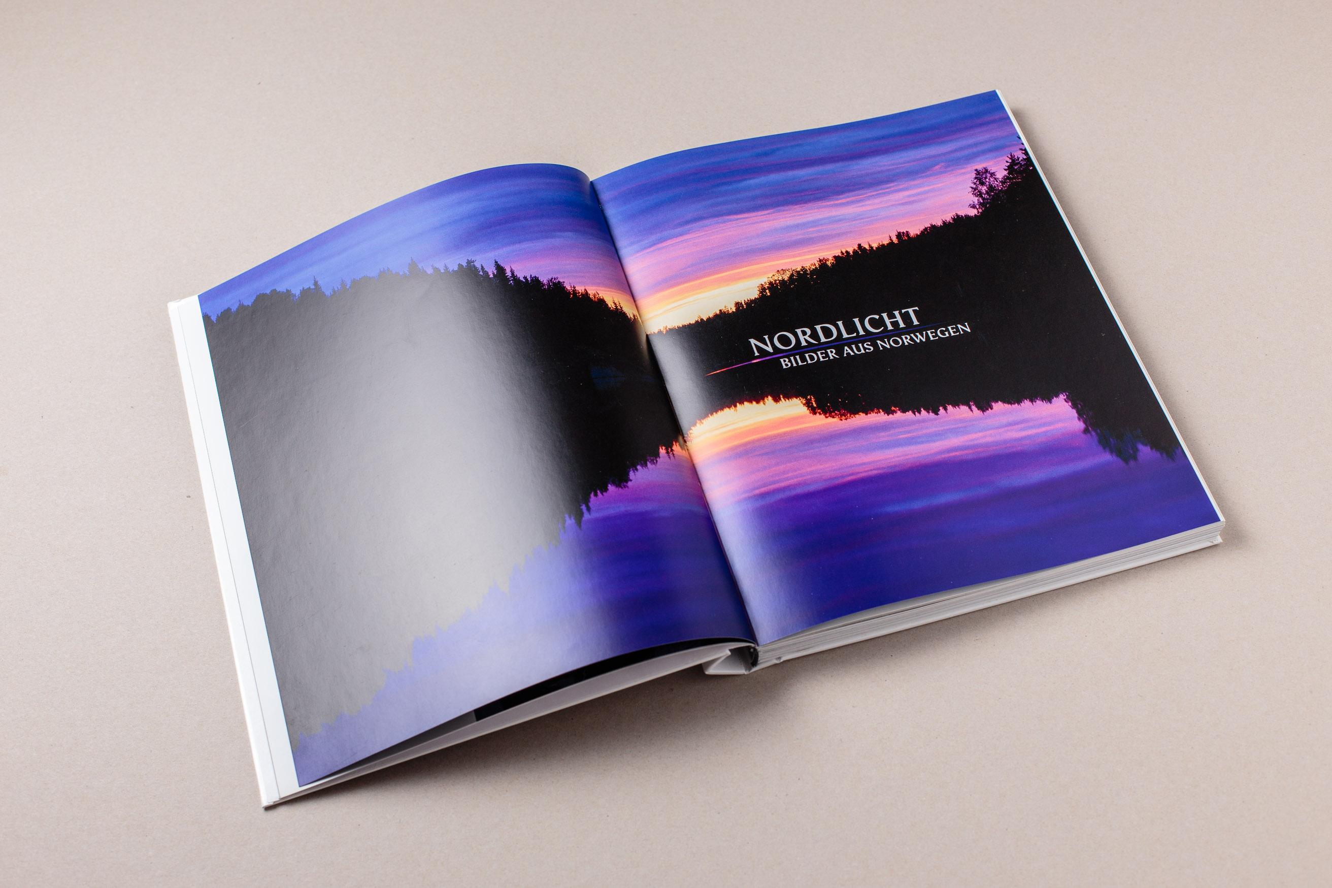 Doppelseite mit Titel, Nordlicht