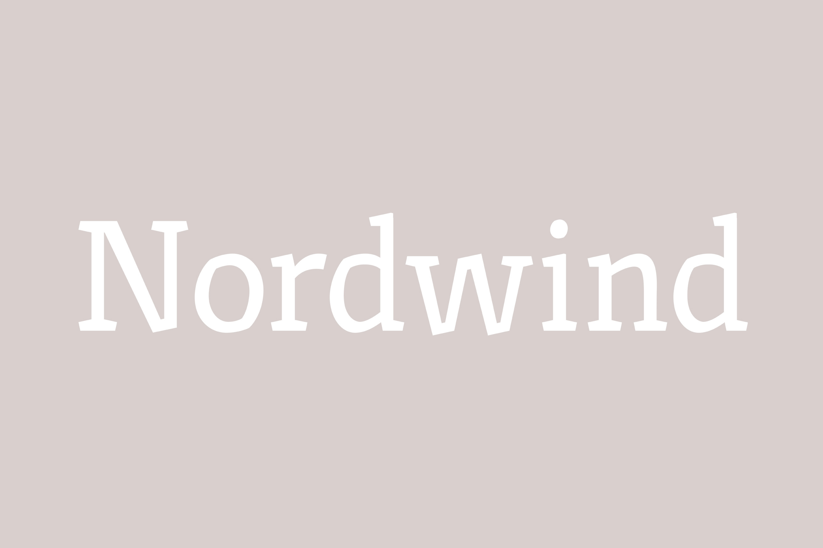 Nordwind typeface