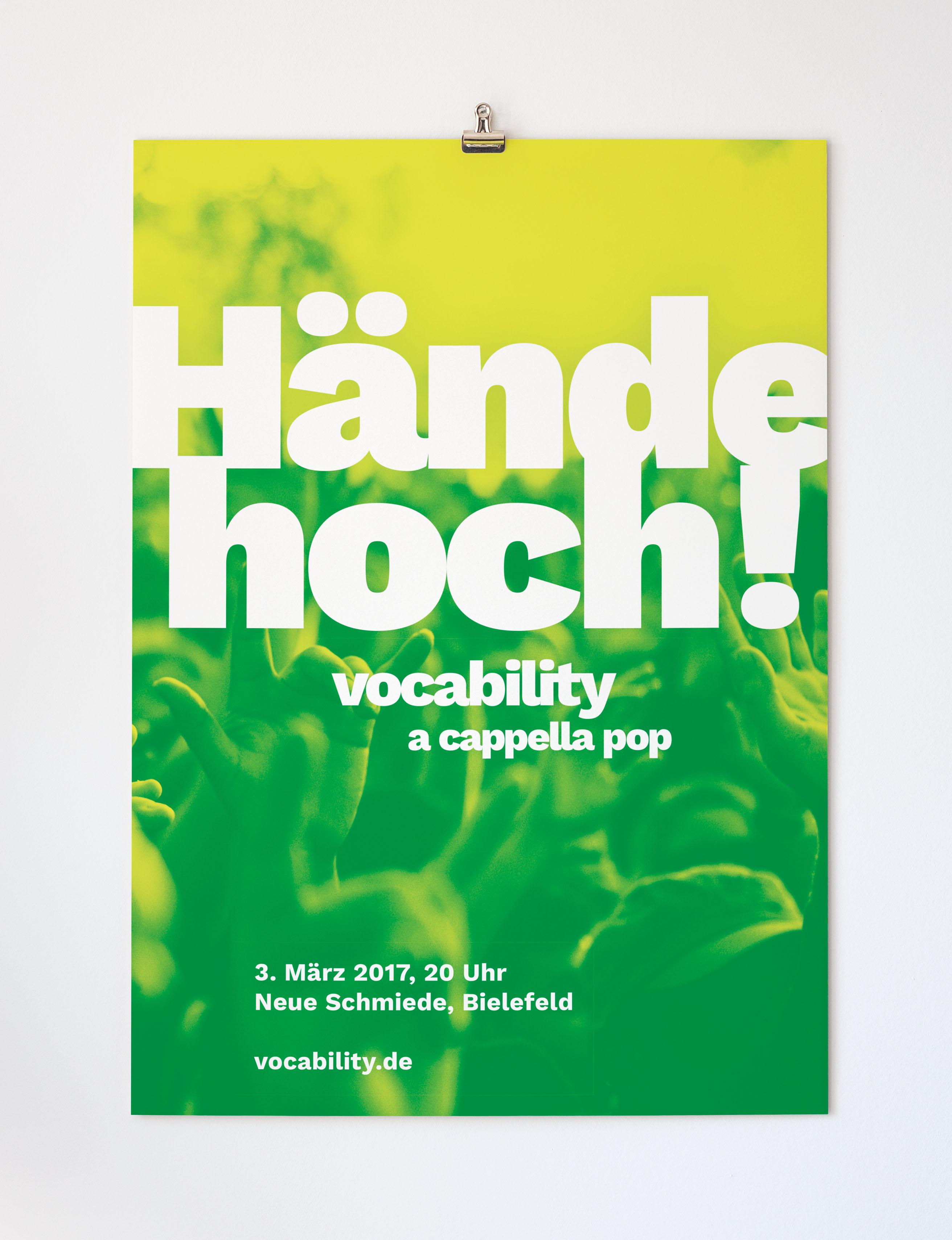 Vocability Plakat