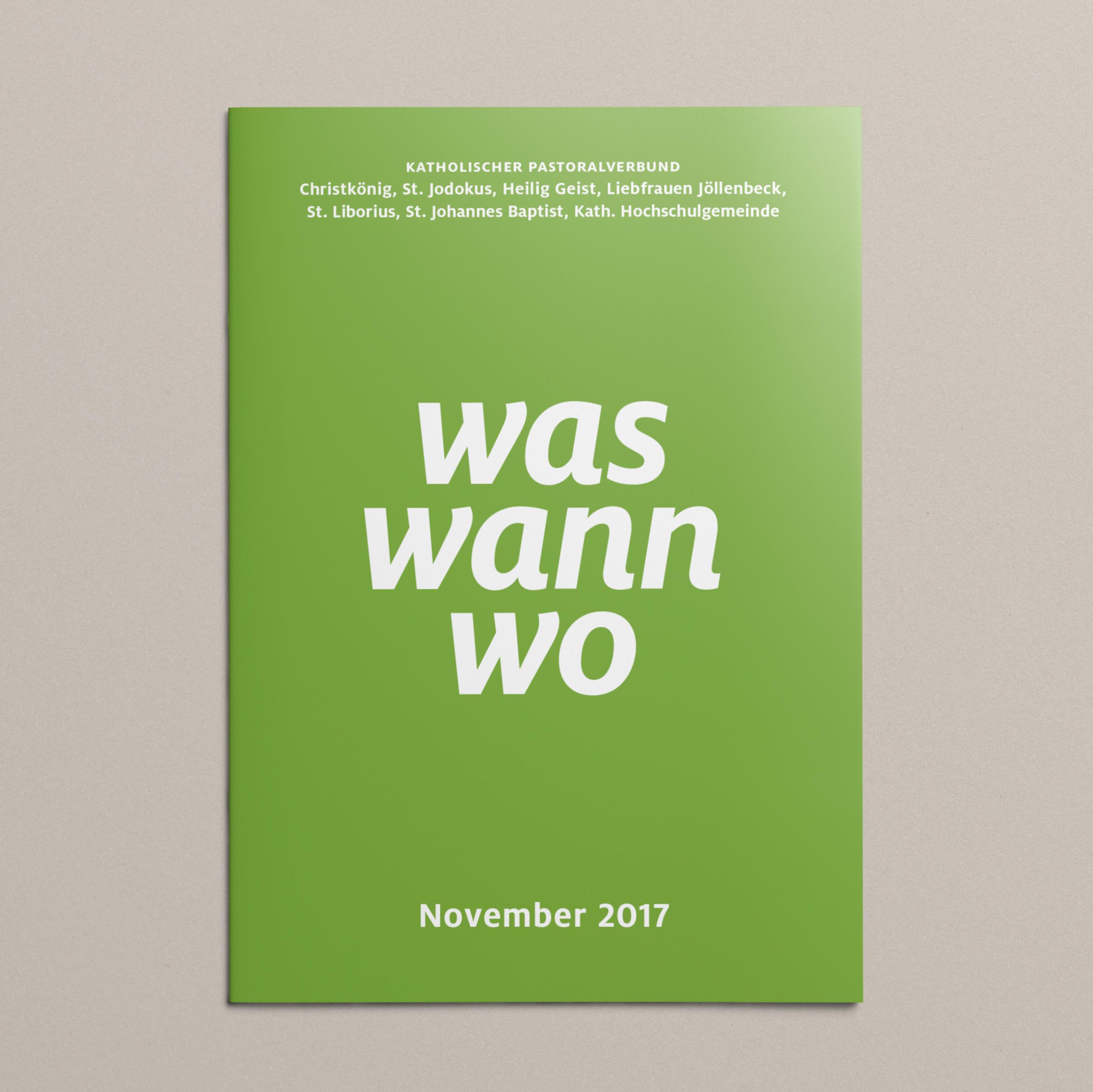 waswannwo Titelblatt Grün