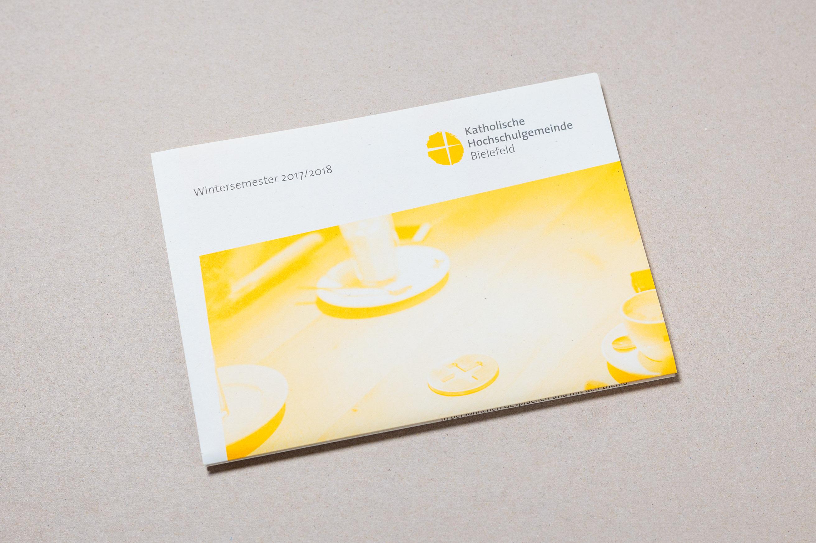 KHG Bielefeld Semesterprogramm, Cover